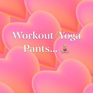 Pants - Workout / Yoga Pants...